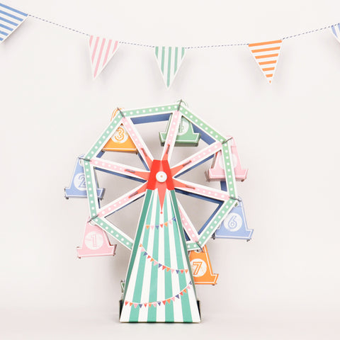 Centrepiece - Toot Sweet Party - Carousel