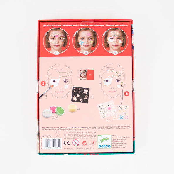 Djeco - Flower fairy face paint set