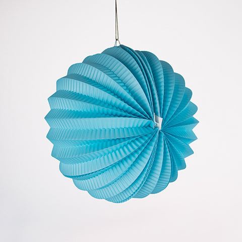 1 circle lantern - Light blue