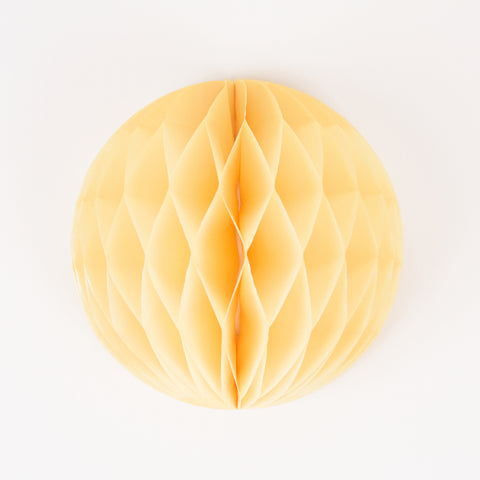 Honeycomb ball - Yellow