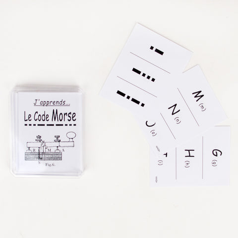 Morse code learning (french)