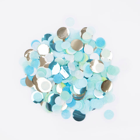 Confetti mix - Blue and green