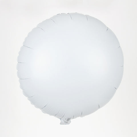 Foil balloon - White