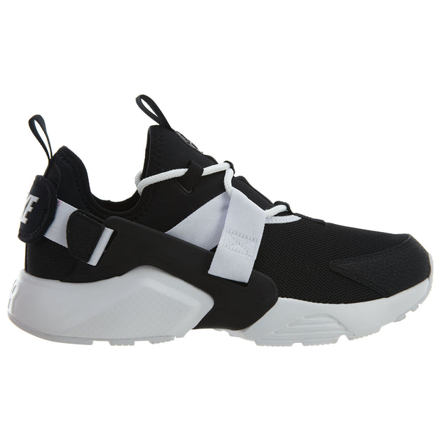 Nike Air Huarache City Low Athletic Shoes Black White  Womens Style :AH6804 - NY Tent Sale