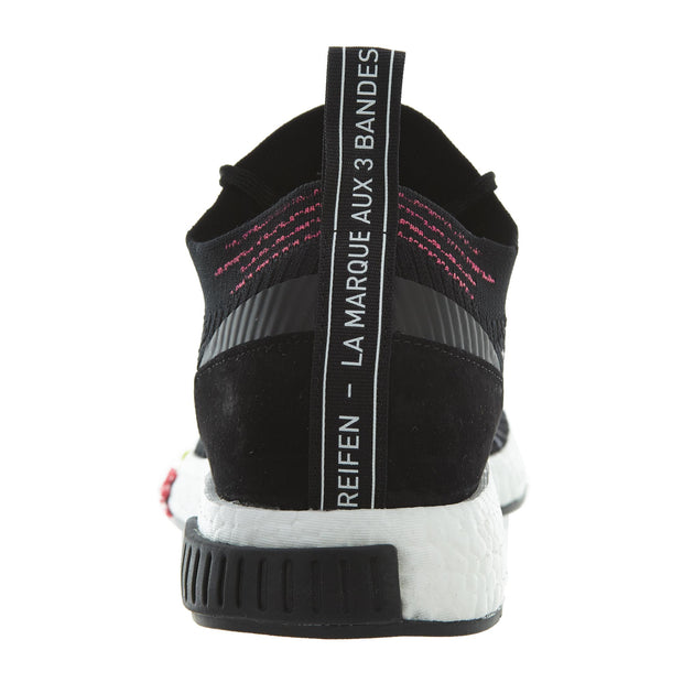 Adidas Originals NMD Racer Primeknit in Core Black/pink  Mens Style :CQ2441