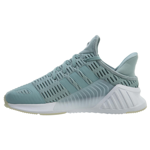 Adidas Climacool 02/17 Tactile Green Footwear White Womens Style :BY9293