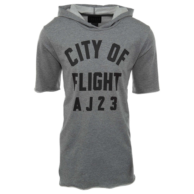 Jordan Sportswear City Of Flight Short Sleeve Hoodie  Mens Style : 911317 - NY Tent Sale