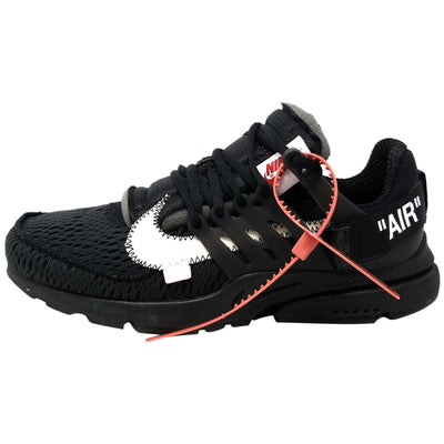 "Nike The 10: Nike Air Presto ""off White"" - black/white Mens Style :AA3830"