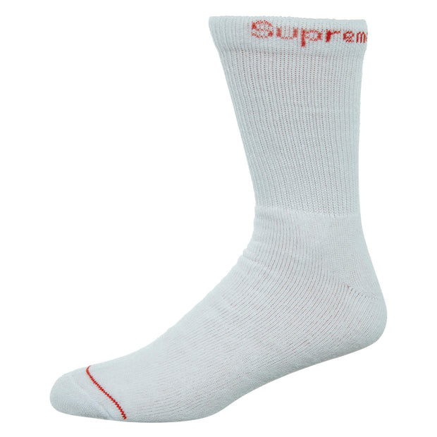 Supreme Hanes Crew Socks (4 Pack) Mens Style : Ss18A26 - NY Tent Sale