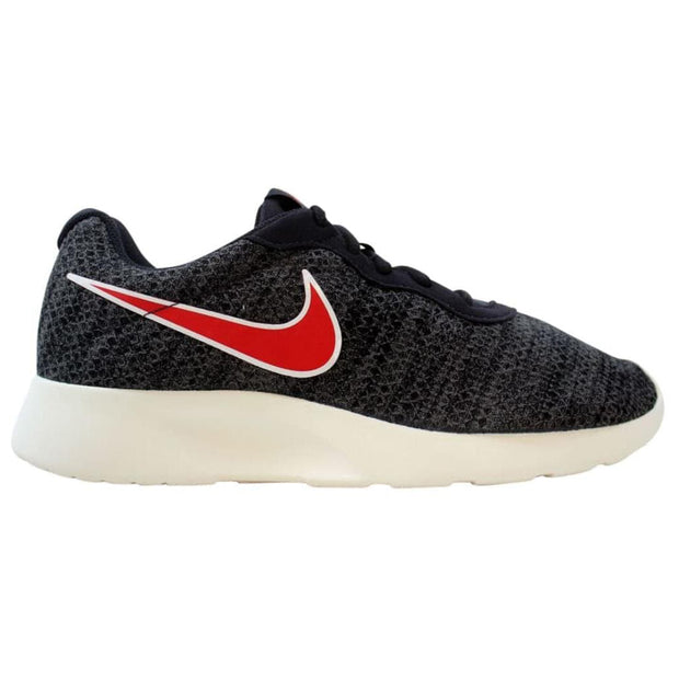 Nike Tanjun Premium Shoes Oil Grey Red Athletic Mens Style :876899 - NY Tent Sale