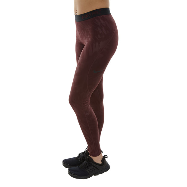 8e794dc39c275 Nike Pro Warm Embossed Wing Tights Womens Style : 932084-652 – NY ...