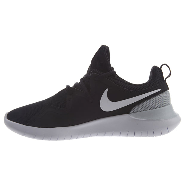 new style a527e 40d02 Nike Women s Tessen Running Shoes Black White Womens Style  AA2172