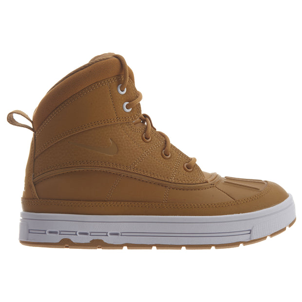 Nike Woodside 2 High Wheat White Boots Boys / Girls Style :524873 - NY Tent Sale