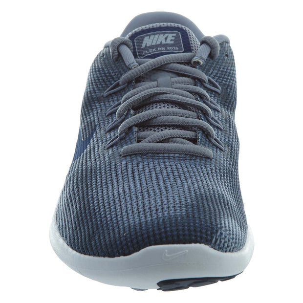 3a943f84e66d3 Nike Flex 2018 Running Shoes Ashen Slate Blue Void Mens Style  AA7397