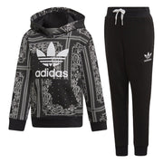 Adidas Bandana Hoodie Toddlers Style : Dw3844-BLACK/WHITE - NY Tent Sale
