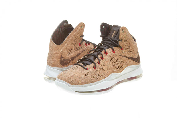 Nike Lebron 10 Ext Cork Qs classic brown/classic brown Mens Style :580890