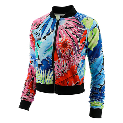 Nike Full Zip Floral Active Jacket Womens Style : Ar2220