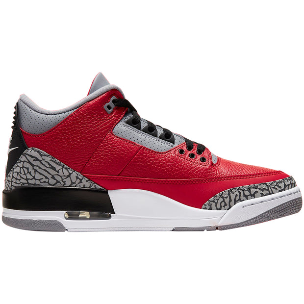 Jordan 3 Retro Fire Red Cement Nike Chi Mens Style:CU2277-600 - NY Tent Sale