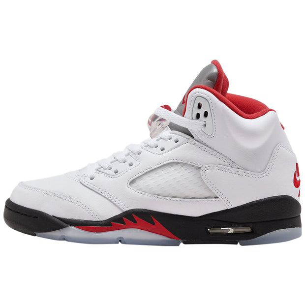 Air Jordan 5 Retro Fire Red Silver Tongue 2020 Big Kid (GS) 440888-102 - NY Tent Sale