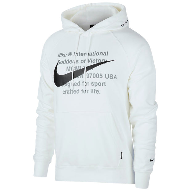 Nike Swoosh French Terry Hoodie Mens Style : Cj4863