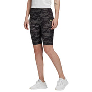 Adidas Aop Short Tights Womens Style : Fm1947
