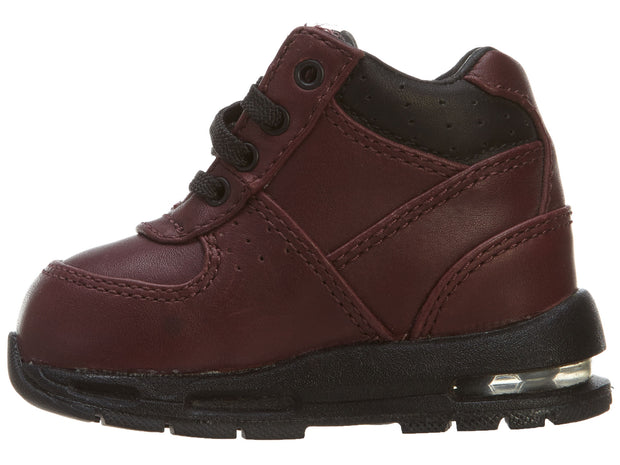 Nike Kids' Air Max Goadome TD Boot Shoes Burgundy Boys / Girls Style :311569