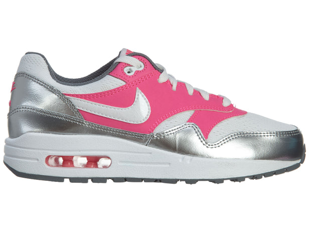 Nike Air Max 1 (GS) Girls Running Shoes Cool Grey Boys / Girls Style :653653 - NY Tent Sale