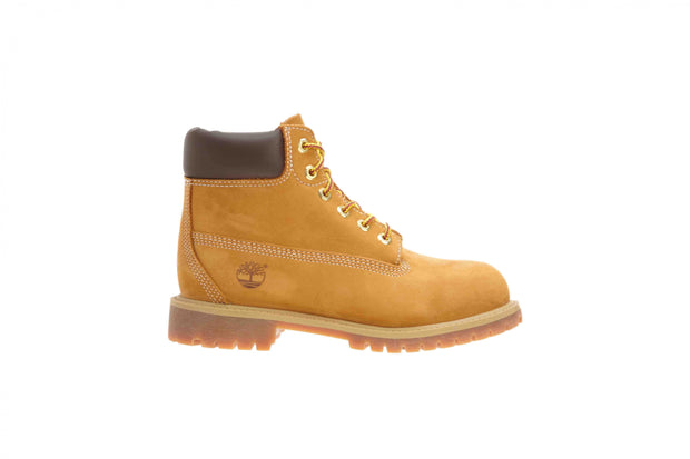 Timberland 6IN PREM WHEAT NUBUCK Little Kids : Style 12709