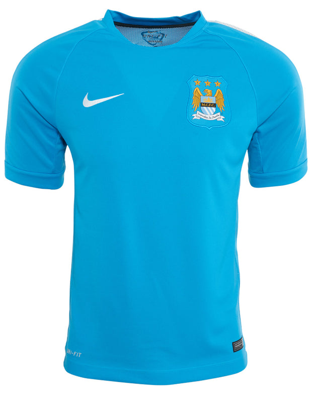 Nike Manchester City Squad Ss Training Top Mens Style : 610487