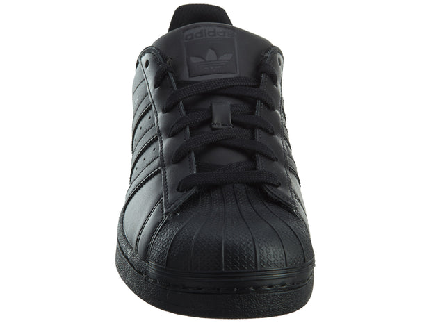 Adidas Superstar Foundation J Boy's Shoes Core Black/Black Boys / Girls Style :B25724 - NY Tent Sale