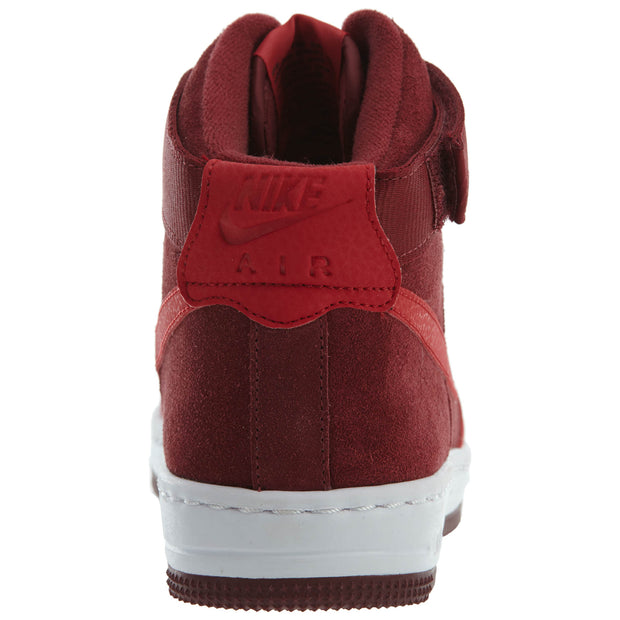 Nike Air Force 1 Ultra Force Mid Red Shoes Womens Style :654851