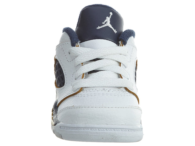 Air Jordan 5 Retro Low TD Dunk From Above White/Gold  Boys / Girls Style :314340 - NY Tent Sale