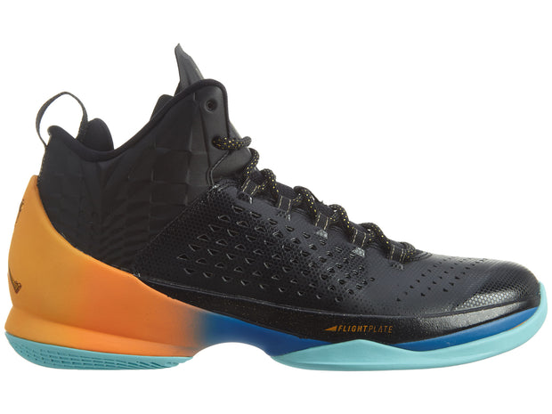 Air Jordan Melo M11 - black metallic Gold Citrus laser Mens Style :716227