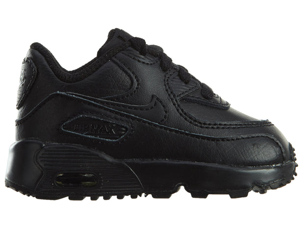 Nike Air Max 90 All Black Shoes Boys / Girls Style :833416