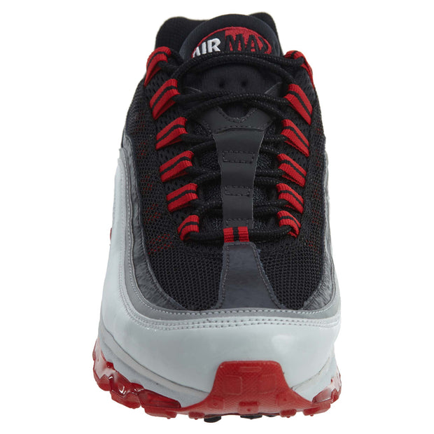 Nike Air Max 24-7 Black Grey Red Running Shoes Womens Style :397292 - NY Tent Sale