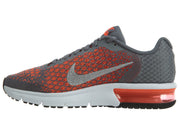 Nike Air Max Sequent 2 Grey/Orange Junior Boys / Girls Style :869993