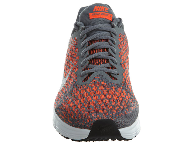 36d63f736557 Nike Air Max Sequent 2 Grey Orange Junior Boys   Girls Style  869993