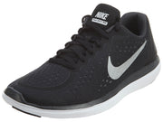 Nike Flex 2017 RN Black Silver Running Boys / Girls Style :904236 - NY Tent Sale