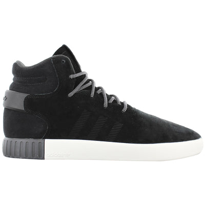Adidas Tubular Invader Black/white Suede High Tops Trainers Mens Style :S80243