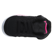Kids Air Jordan 5 V Retro TD Black Deadly Pink White Boys / Girls Style :725172