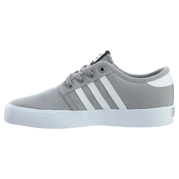 Adidas Boys' Seeley J Grey/White Kid Sneaker Boys / Girls Style :BY3839