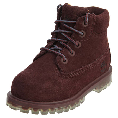 "Timberland 6"" Premium Boot Toddlers Style : Tb0a1blf"