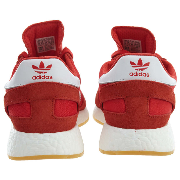 Iniki Runner Adidas red/running white shoes Mens Style :BY9728 - NY Tent Sale