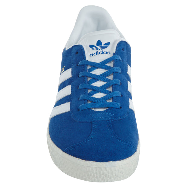 Adidas Gazelle Big Kids Blue White Suede Athletic Shoes Boys / Girls Style :BB2501 - NY Tent Sale
