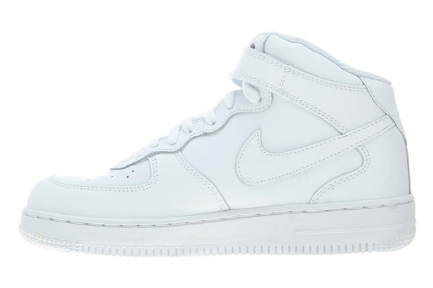 Nike Air Force 1 Mid PS Shoes Retro High Top Trainers White Boys / Girls Style :314196