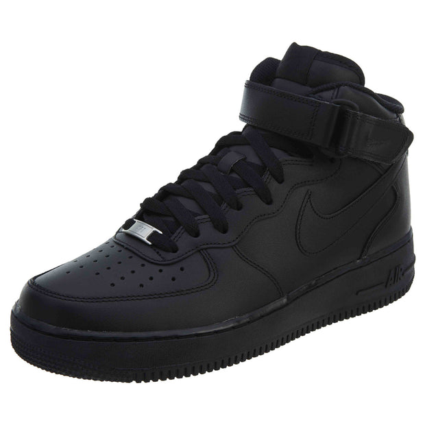 Sneakers Mens Nike Black Top Style315123 Force Leather High 1 Air 8nkP0Ow