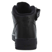 Nike Air Force 1 High Top Sneakers Black Leather  Mens Style :315123