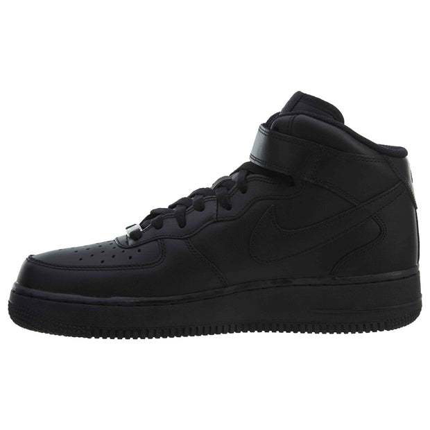 Nike Air Force 1 Mid Black (2016) - Mens