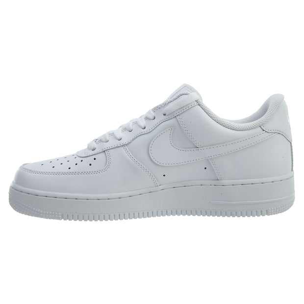 size 40 75da1 b459b Nike Air Force 1 One Low Top All Triple White Mens Style :315122