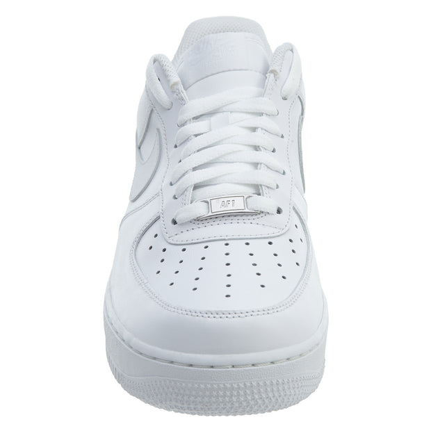 Nike Air Force 1 One Low Top All Triple White  Mens Style :315122